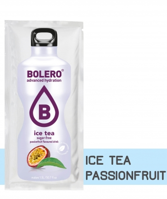 SACHET ICE TEA PASSIONFRUIT